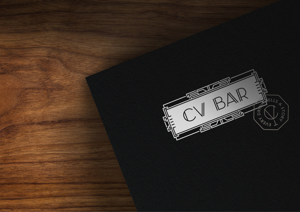 CV BAR #SpeakEasy #folder #Bill_Holder