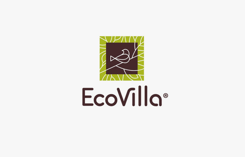 #Eco #Villa #logodesign #Trademark_Logo_Ideas #Food #birdlogo