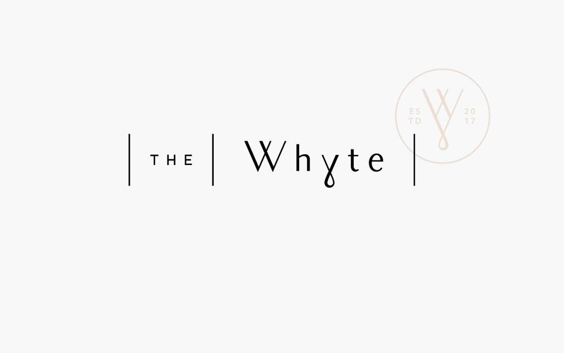 The Whyte / brand strategy, naming, design