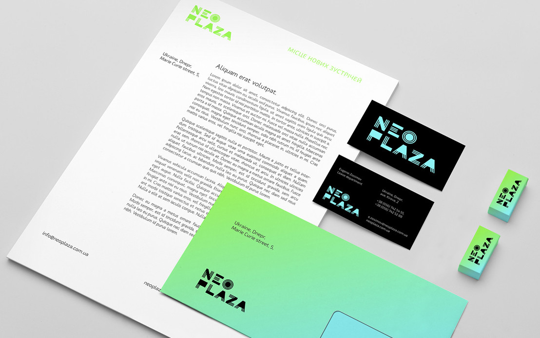 NEO PLAZA ##logoinspiration #Stationery